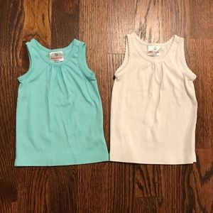 Set of 2 Hanna Andersson Tanks